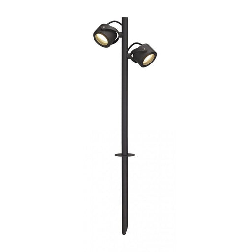 SITRA anthracite, 2-light sources Outdoor Spotlight  | Modern Lighting + Decor