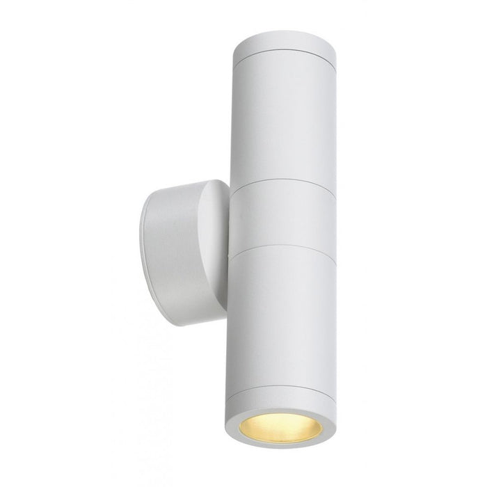 ASTINA white, 2-light sources Outdoor Wall Light from SLV Lighting | Modern Lighting + Decor