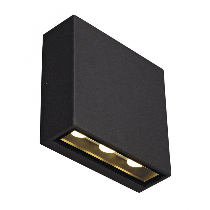Buy online latest and high quality BIG QUAD LED anthracite, 3-light sources Outdoor Wall Light from SLV Lighting | Modern Lighting + Decor