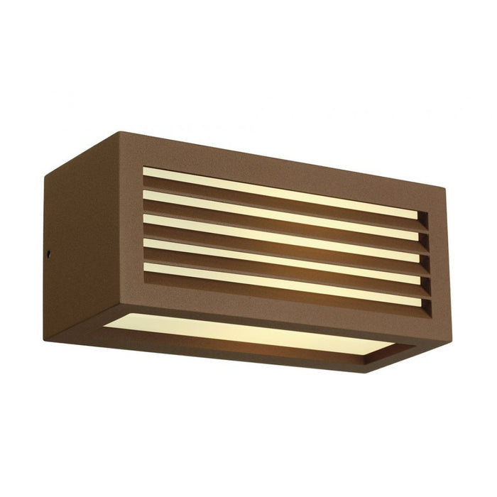 Buy online latest and high quality BOX rust-coloured, 1-light source Outdoor Wall Light from SLV Lighting | Modern Lighting + Decor