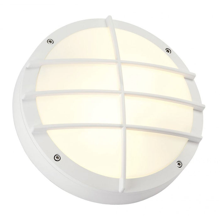 BULAN GRID white, 2-light sources Outdoor Wall Light from SLV Lighting | Modern Lighting + Decor