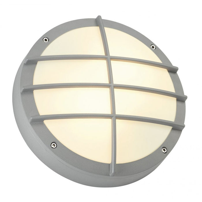 BULAN GRID grey, silver, 2-light sources Outdoor Wall Light from SLV Lighting | Modern Lighting + Decor