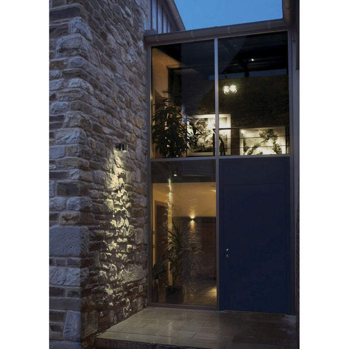 HELIA LED anthracite, 1-light source Outdoor Wall Light from SLV Lighting | Modern Lighting + Decor