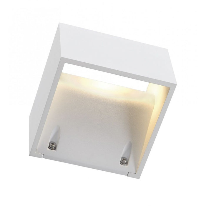 LOGS LED white, 1-light source Outdoor Wall Light from SLV Lighting | Modern Lighting + Decor