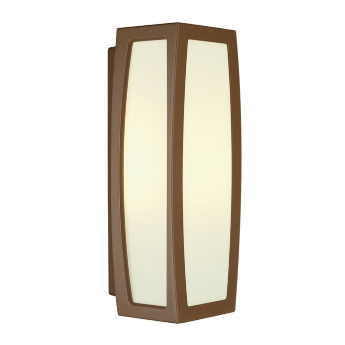 MERIDIAN rust-coloured, 1-light source Outdoor Wall Light  | Modern Lighting + Decor