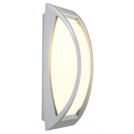 Buy online latest and high quality MERIDIAN grey, silver, 1-light source Outdoor Wall Light from SLV Lighting | Modern Lighting + Decor