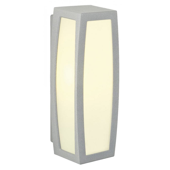 MERIDIAN BOX grey, silver, 1-light source Outdoor Wall Light from SLV Lighting | Modern Lighting + Decor