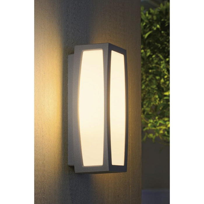 Buy online latest and high quality MERIDIAN BOX grey, silver, 1-light source, Motion sensor Outdoor Wall Light from SLV Lighting | Modern Lighting + Decor