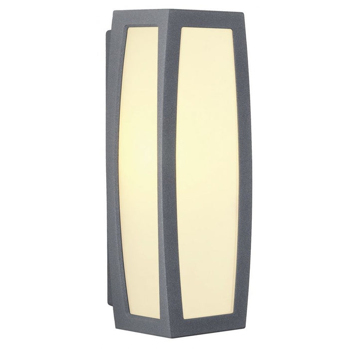 Buy online latest and high quality MERIDIAN BOX anthracite, 1-light source, Motion sensor Outdoor Wall Light from SLV Lighting | Modern Lighting + Decor