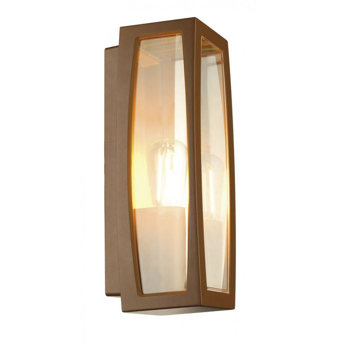 Buy online latest and high quality MERIDIAN BOX rust-coloured, 1-light source Outdoor Wall Light from SLV Lighting | Modern Lighting + Decor
