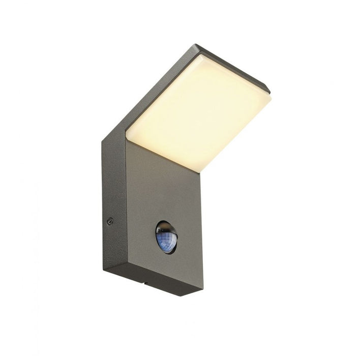 Buy online latest and high quality ORDI LED anthracite, 1-light source, Motion sensor Outdoor Wall Light from SLV Lighting | Modern Lighting + Decor