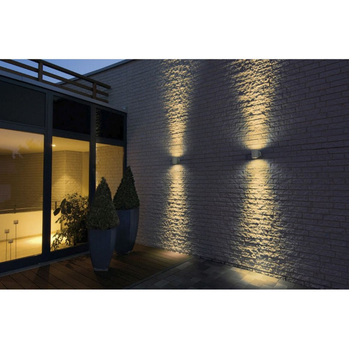 Buy online latest and high quality SITRA grey, 2-light sources Outdoor Wall Light from SLV Lighting | Modern Lighting + Decor