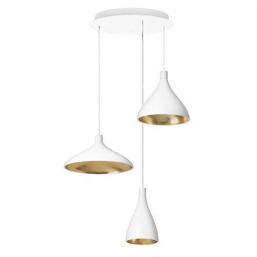 Swell 3 Chandelier from Pablo Designs | Modern Lighting + Decor