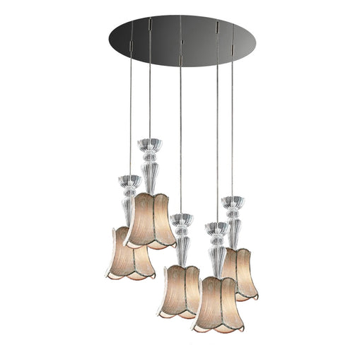 Vintage Glass SO5 Barocco Pendant Lamp from EviStyle | Modern Lighting + Decor