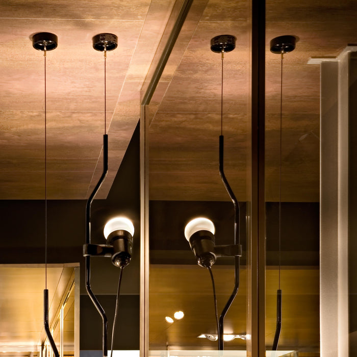 Buy online latest and high quality Parentesi Pendant Light from Flos | Modern Lighting + Decor