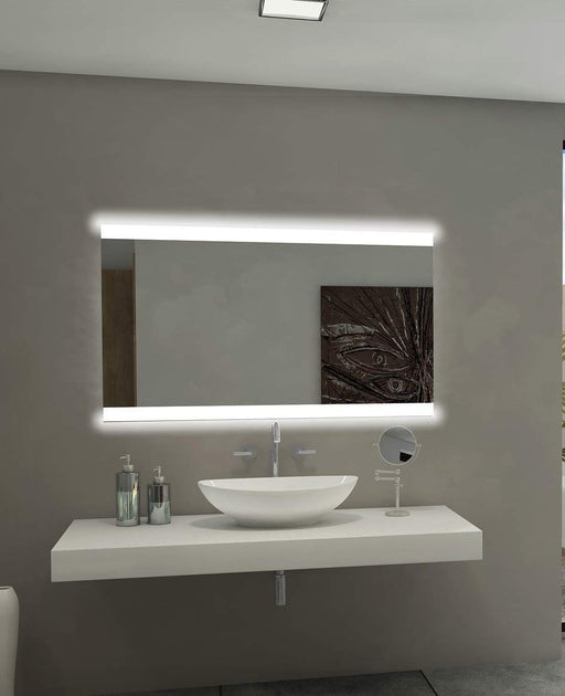 Backlit Mirror Paris 48 X 28 In from Paris Mirror | Modern Lighting + Decor