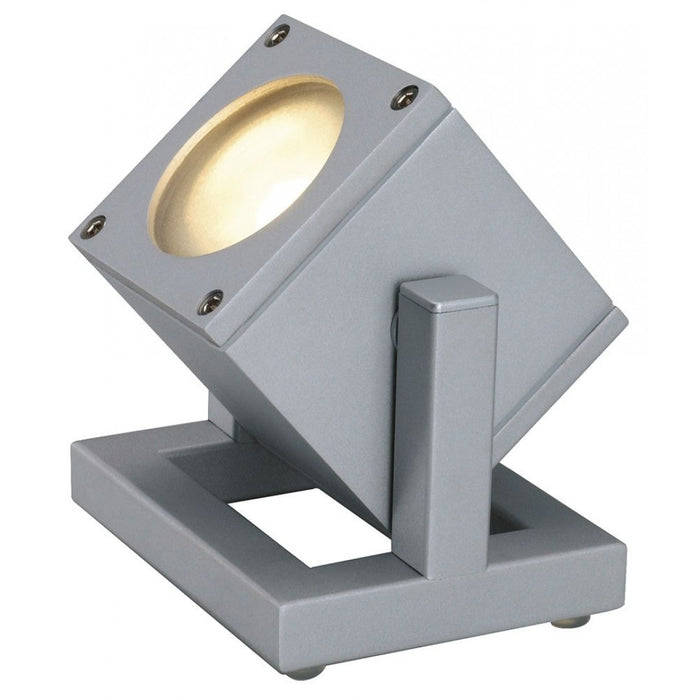 CUBIX grey, silver, 1-light source Path light  | Modern Lighting + Decor