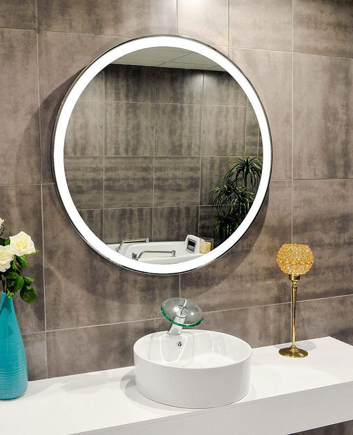 Buy online latest and high quality Lighted Mirror Galaxy 40 X 40 In from Paris Mirror | Modern Lighting + Decor