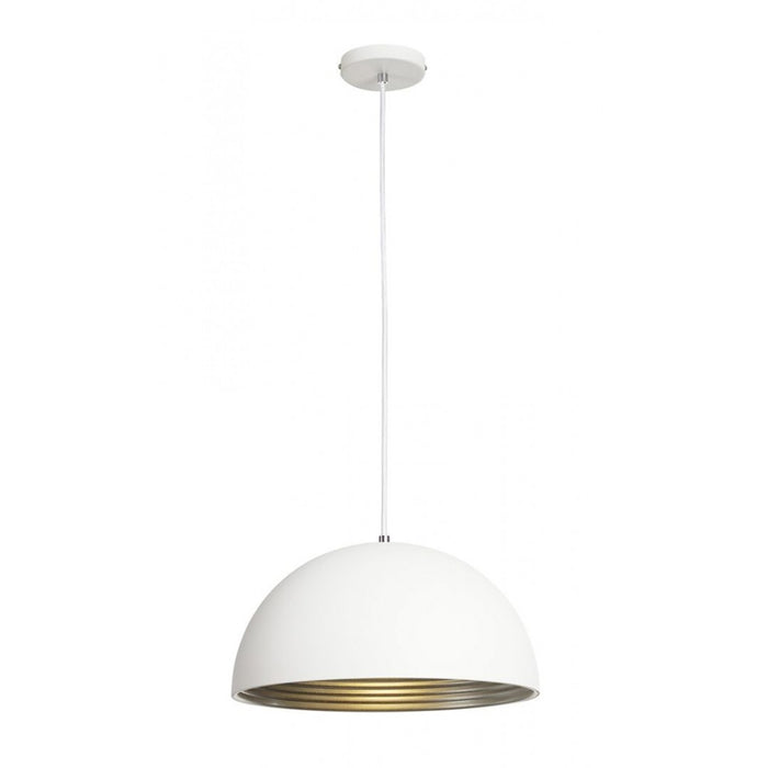 Buy online latest and high quality FORCHINI M silver, white, 1-light source Pendant Light from SLV Lighting | Modern Lighting + Decor