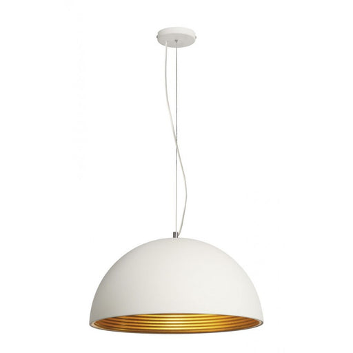 FORCHINI M white, gold, 1-light source Pendant Light  | Modern Lighting + Decor