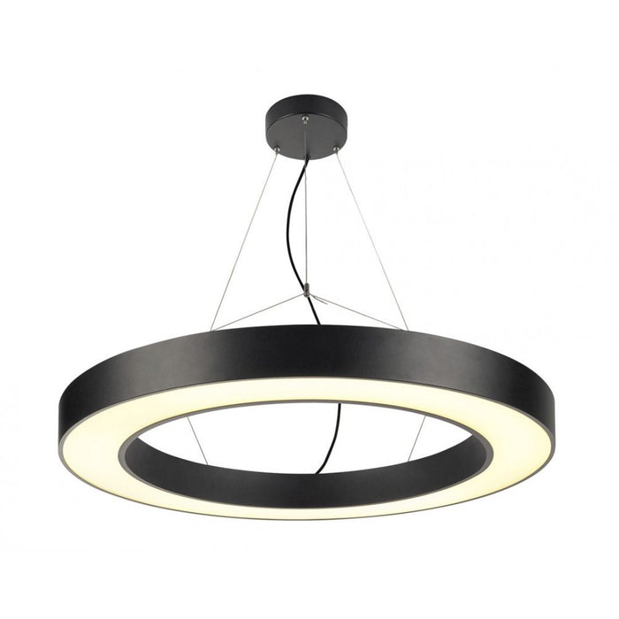 MEDO RING LED black, 1-light source Pendant Light from SLV Lighting | Modern Lighting + Decor
