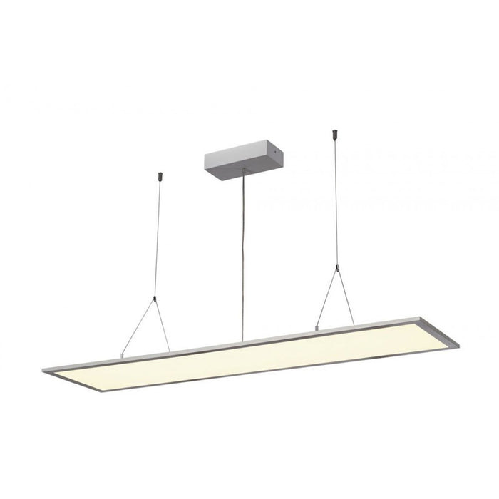 PRO LED grey, silver, 1-light source Pendant Light from SLV Lighting | Modern Lighting + Decor