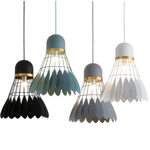 Shuttlecock Pendant Light from Interior Deluxe | Modern Lighting + Decor