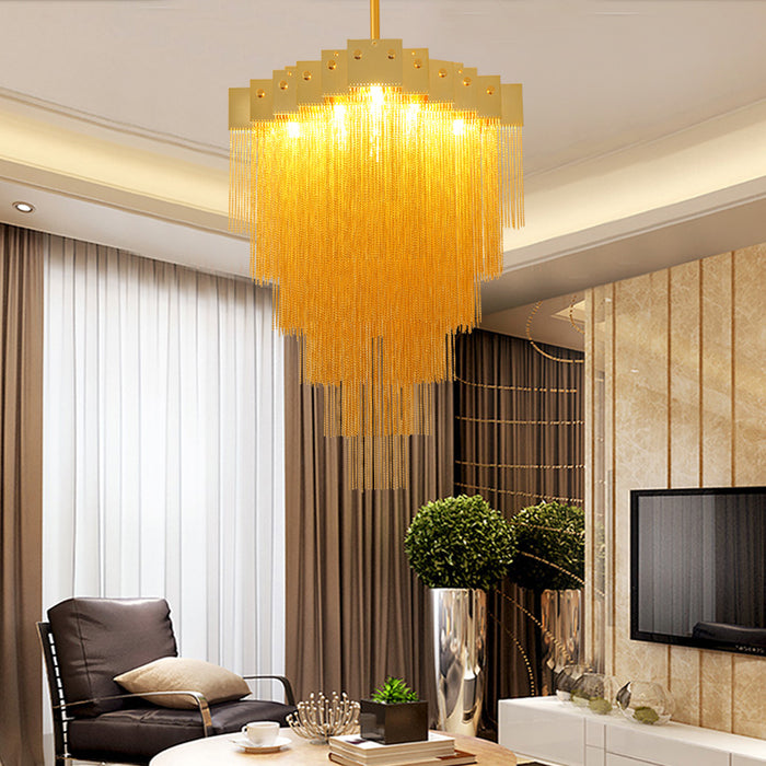 Allegro Chandelier from Interior Deluxe | Modern Lighting + Decor