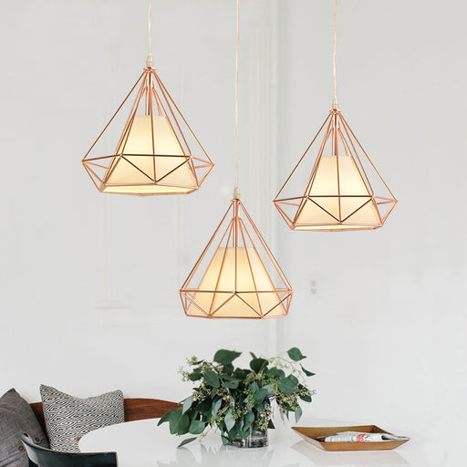 Diamond Pendant Light from Interior Deluxe | Modern Lighting + Decor