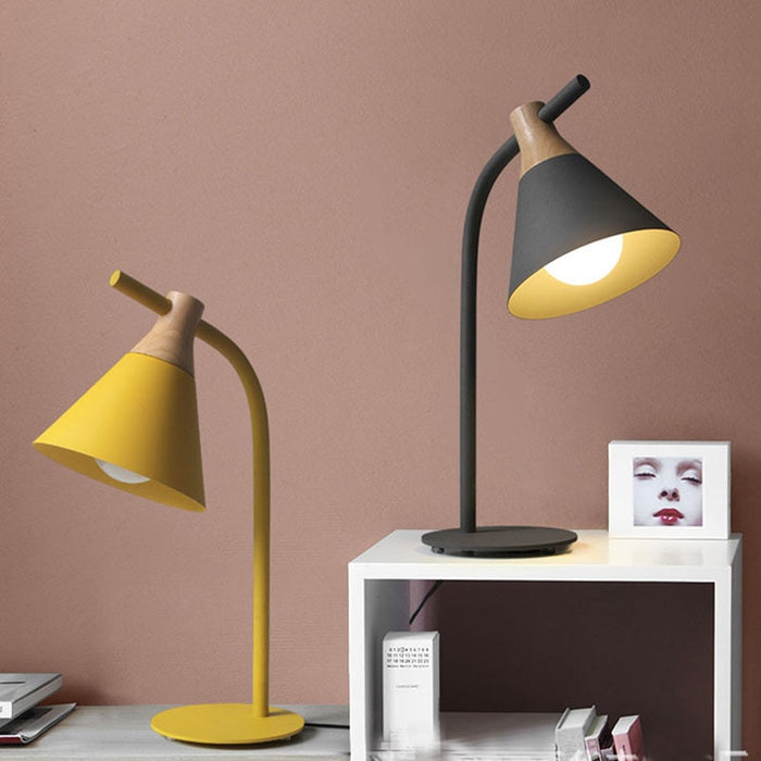 Cono Table Lamp from Interior Deluxe | Modern Lighting + Decor