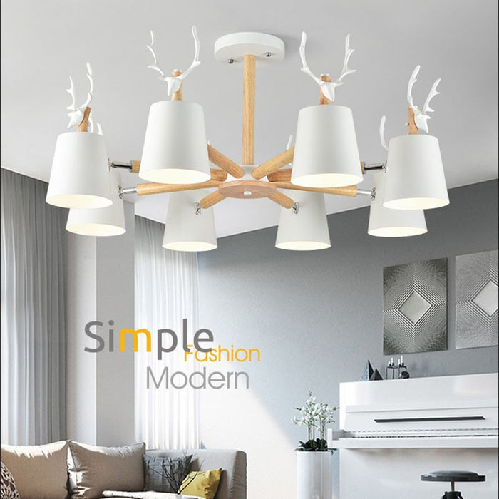 Beetle Chandelier from Interior Deluxe | Modern Lighting + Decor