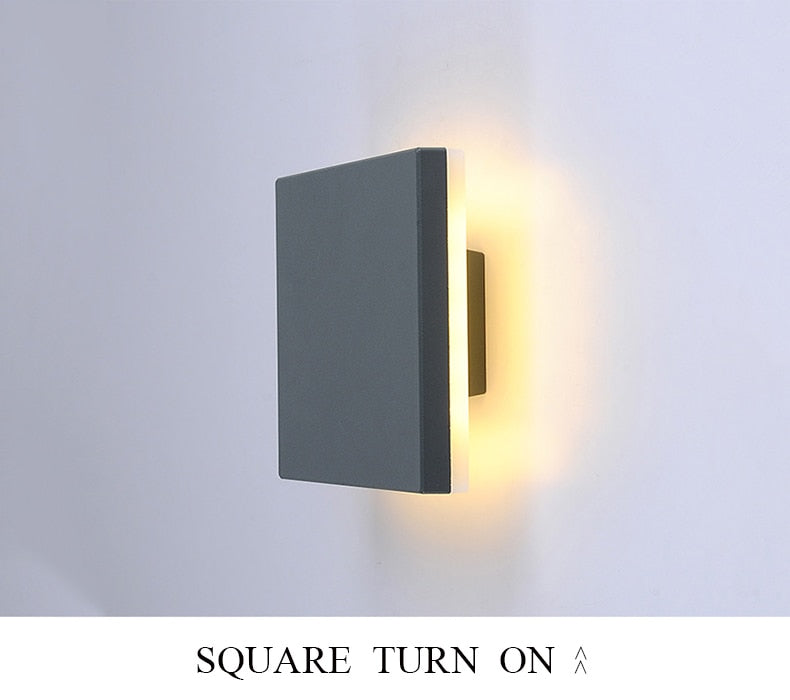 Doremi Outdoor LED Wall Light from Interior-Deluxe.com | Modern Lighting + Decor
