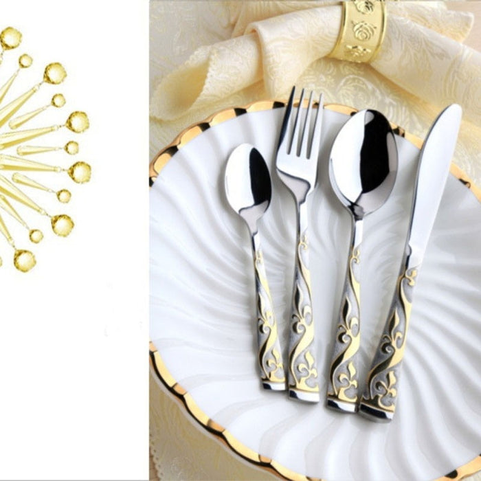 Buy online latest and high quality Vinezen Cutlery Set from Interior Deluxe | Modern Lighting + Decor