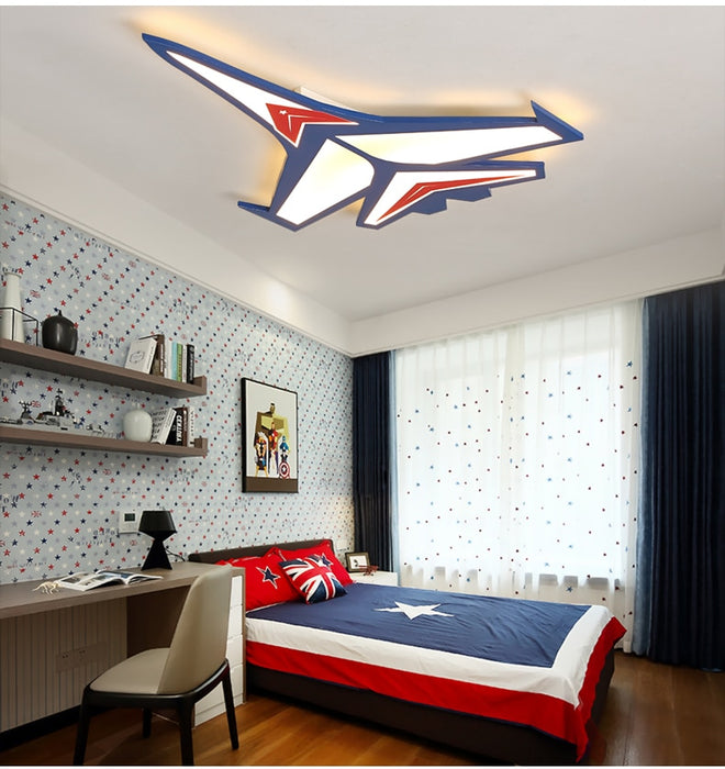 Super B Aeroplane Ceiling Light from Interior Deluxe | Modern Lighting + Decor
