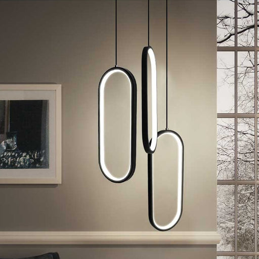 Ovale LED Pendant Light from Interior Deluxe | Modern Lighting + Decor