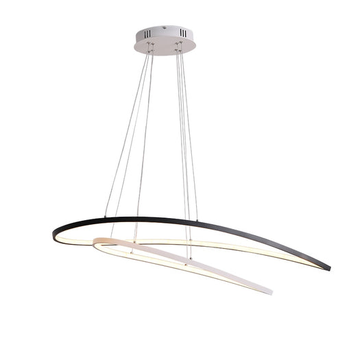 Vertigo LED Chandelier from Interior Deluxe | Modern Lighting + Decor