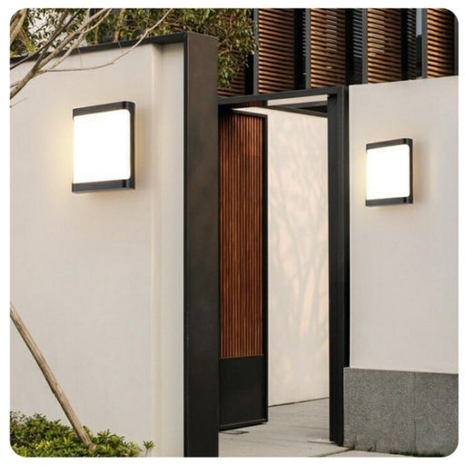 Bucelli Outdoor LED Wall Light from Interior Deluxe | Modern Lighting + Decor