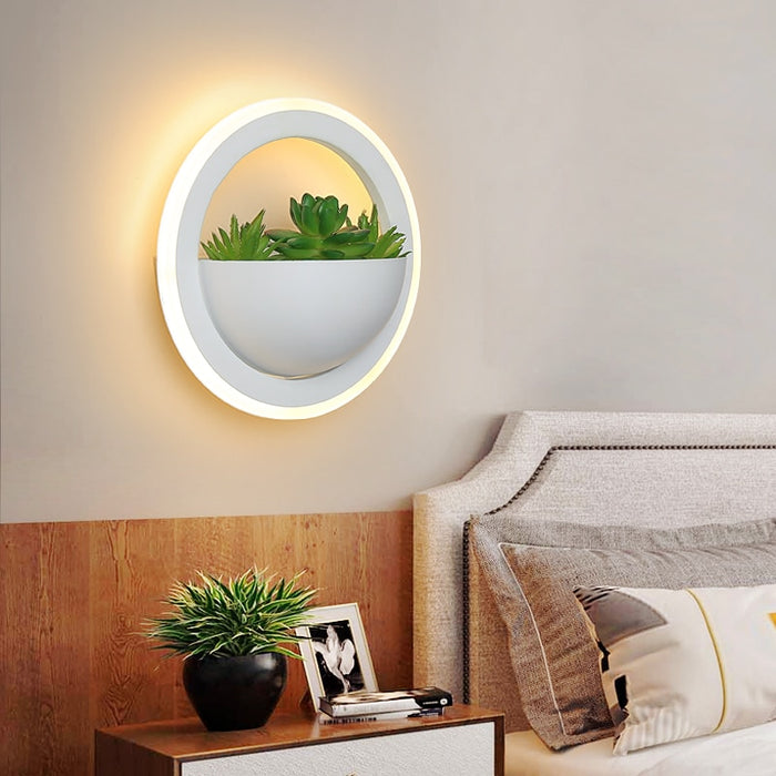 Alume Round LED Wall Light from Interior Deluxe | Modern Lighting + Decor