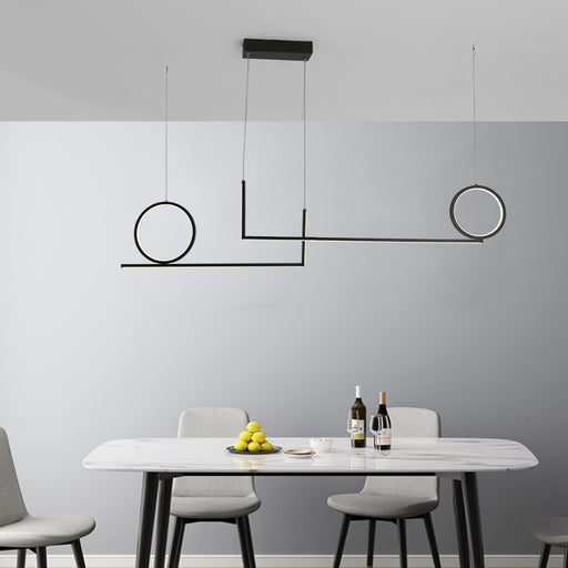 Ring Stick LED Pendant Light from Interior Deluxe | Modern Lighting + Decor
