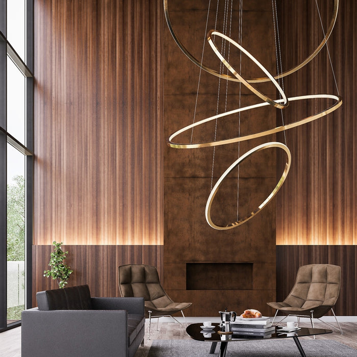 Perchgrand Chandelier from Interior Deluxe | Modern Lighting + Decor
