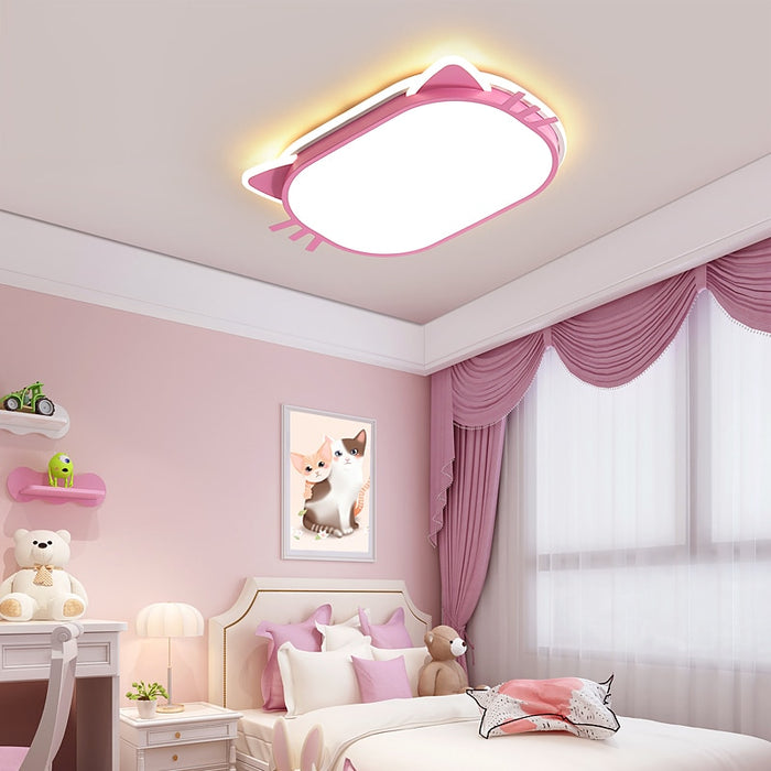 Pink Cute LED Ceiling Light from Interior Deluxe | Modern Lighting + Decor