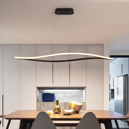 Long Glow LED Pendant Light from Interior Deluxe | Modern Lighting + Decor