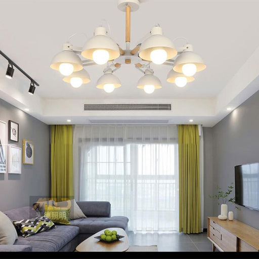 Buy online latest and high quality AL Ilman 8 Chandelier from Interior Deluxe | Modern Lighting + Decor