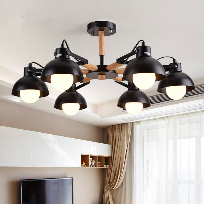 AL Ilman 8 Chandelier from Interior Deluxe | Modern Lighting + Decor