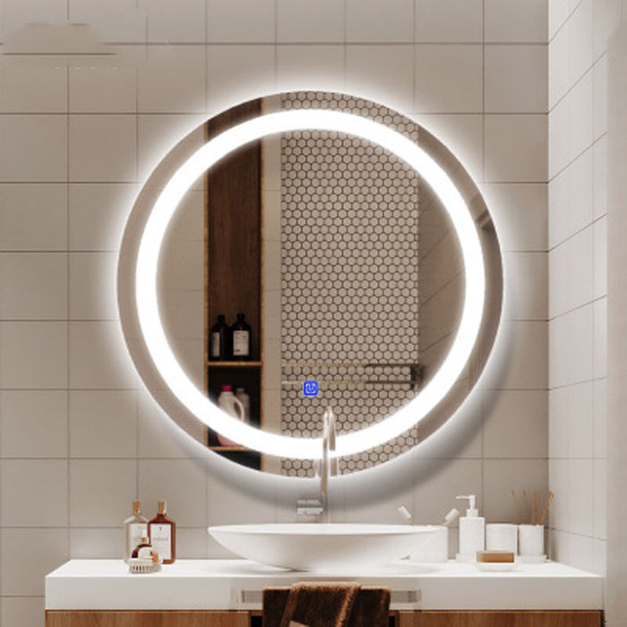 Glitterfrost Lighted Mirror from Interior Deluxe | Modern Lighting + Decor