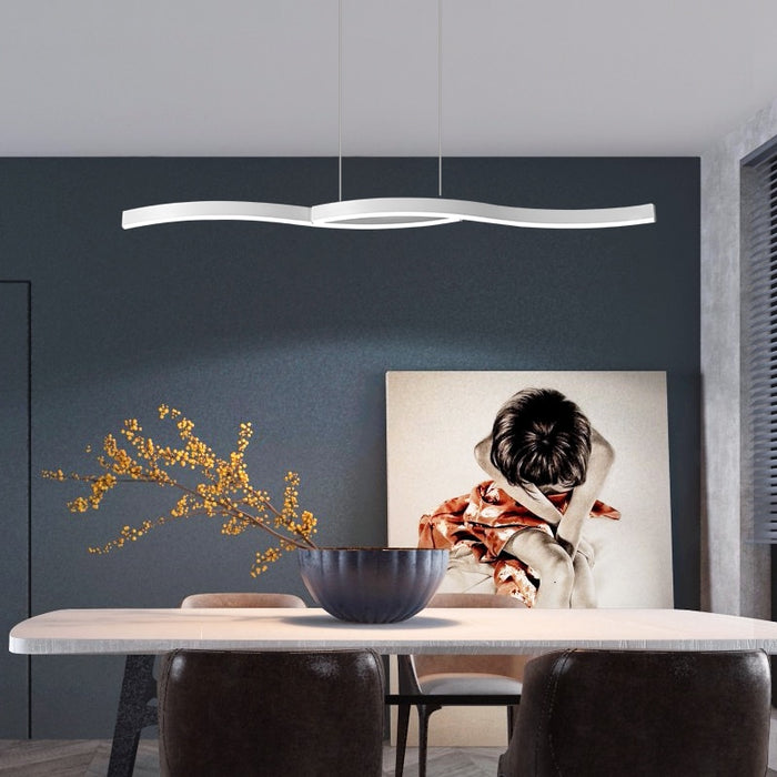 Breaking Wave Pendant Light