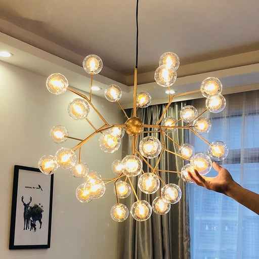 Buy online latest and high quality Agutto LED Chandelier from Interior Deluxe | Modern Lighting + Decor