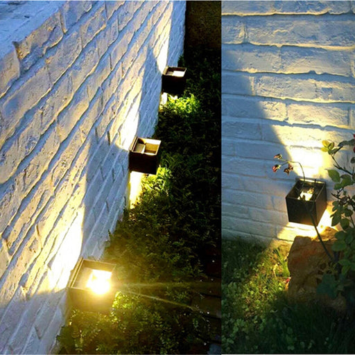 Widda X2 Outdoor LED Wall Lamp from Interior Deluxe | Modern Lighting + Decor