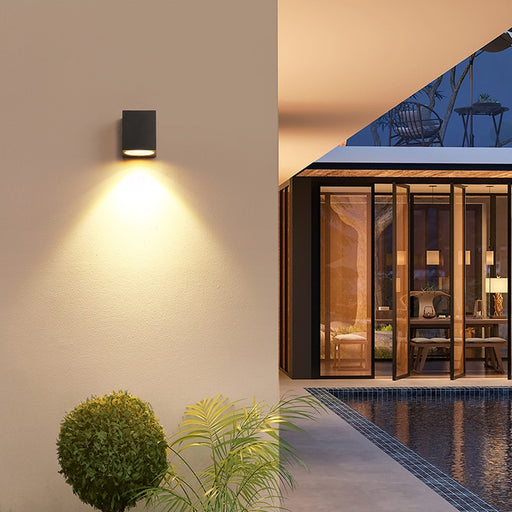 Mika Tam Outdoor Wall Lamp from Interior Deluxe | Modern Lighting + Decor