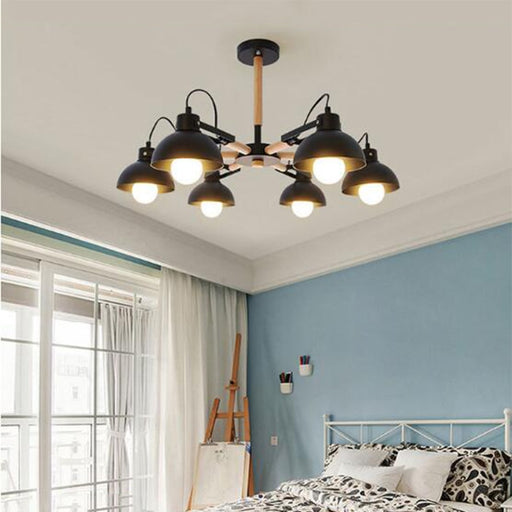 AL Ilman 6 Chandelier from Interior Deluxe | Modern Lighting + Decor